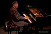 Pianist and composer Chucho Valdes Photo -  and the Latin Jazz Messengers in concert at The Merriam Theater in Philadelphia Pa, on January 26, 2011  featuring Chucho Valds (piano), Juan Carlos Rojas Castro (drums), Lzaro Rivero Alarcn (bass): Yaroldy Abreu Robles (percussion); Carlos Manuel Miyares Hernandez (tenor saxophone), Reinaldo Melin lvarez (trumpet), Dreiser Durruthy Bambol  as voice leader and drums bata