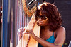 Brandee Younger  Photo - The 29th Annual Detroit International Jazz Festival, Detroit Michigan, August 29-31, 2008