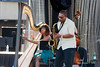 Brandee Younger &amp; Ravi Coltrane  Photo - The 29th Annual Detroit International Jazz Festival, Detroit Michigan, August 29-31, 2008