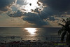 Sunset photos Viewed From The Marriott Grand Cayman Beach Resort - May 2011